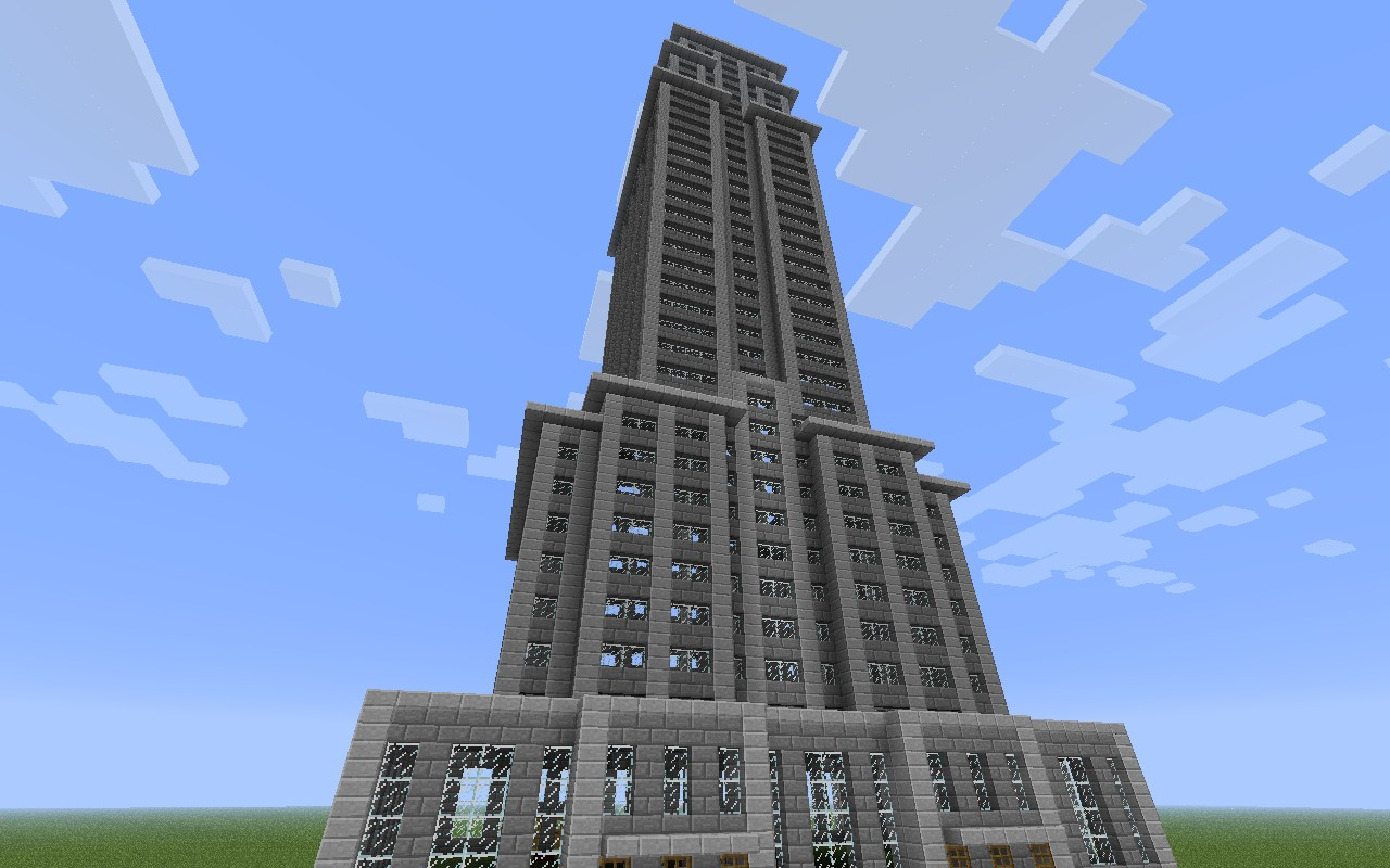 Minecraft Pickaxe Building