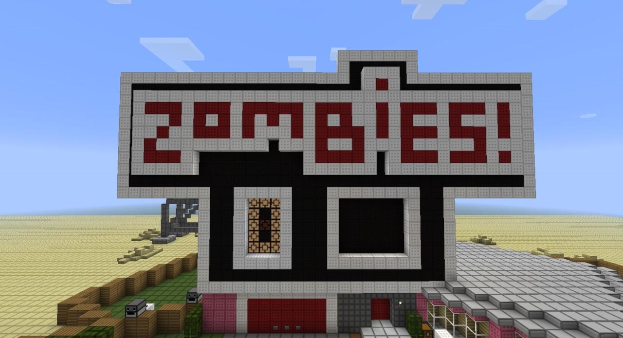 скачать карты для minecraft 1.7.2 на арену зомби #4