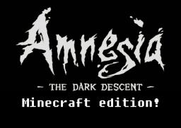Amnesia Adventure Map Minecraft Map & Project