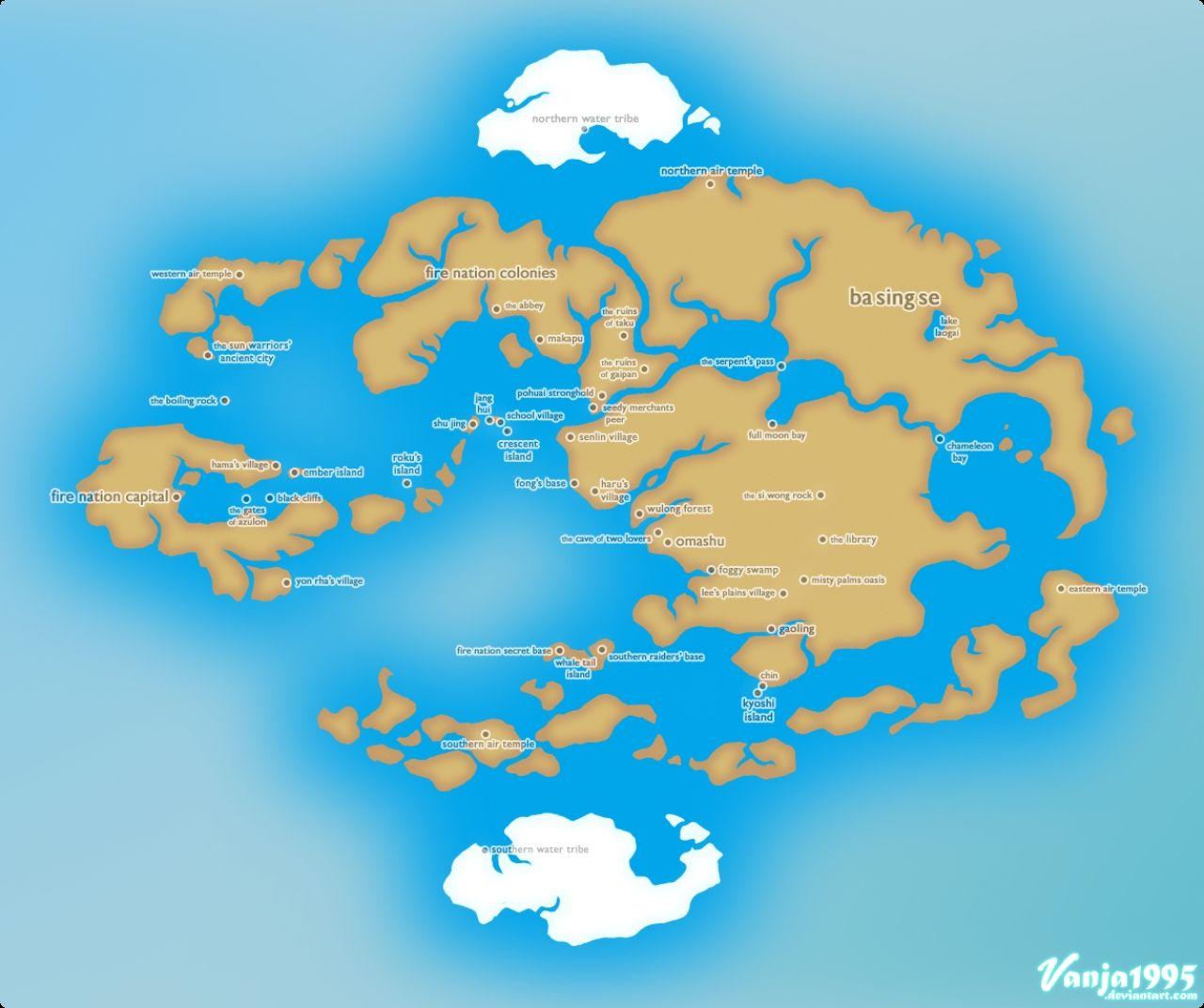 Avatar The Last Airbender World Minecraft Project