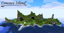 Concave Island Minecraft Project