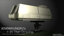 Y-85 Titan dropship Minecraft Map & Project
