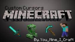 Custom Minecraft Cursors! DOWNLOAD NOW! Up to Windows 8.1 Minecraft