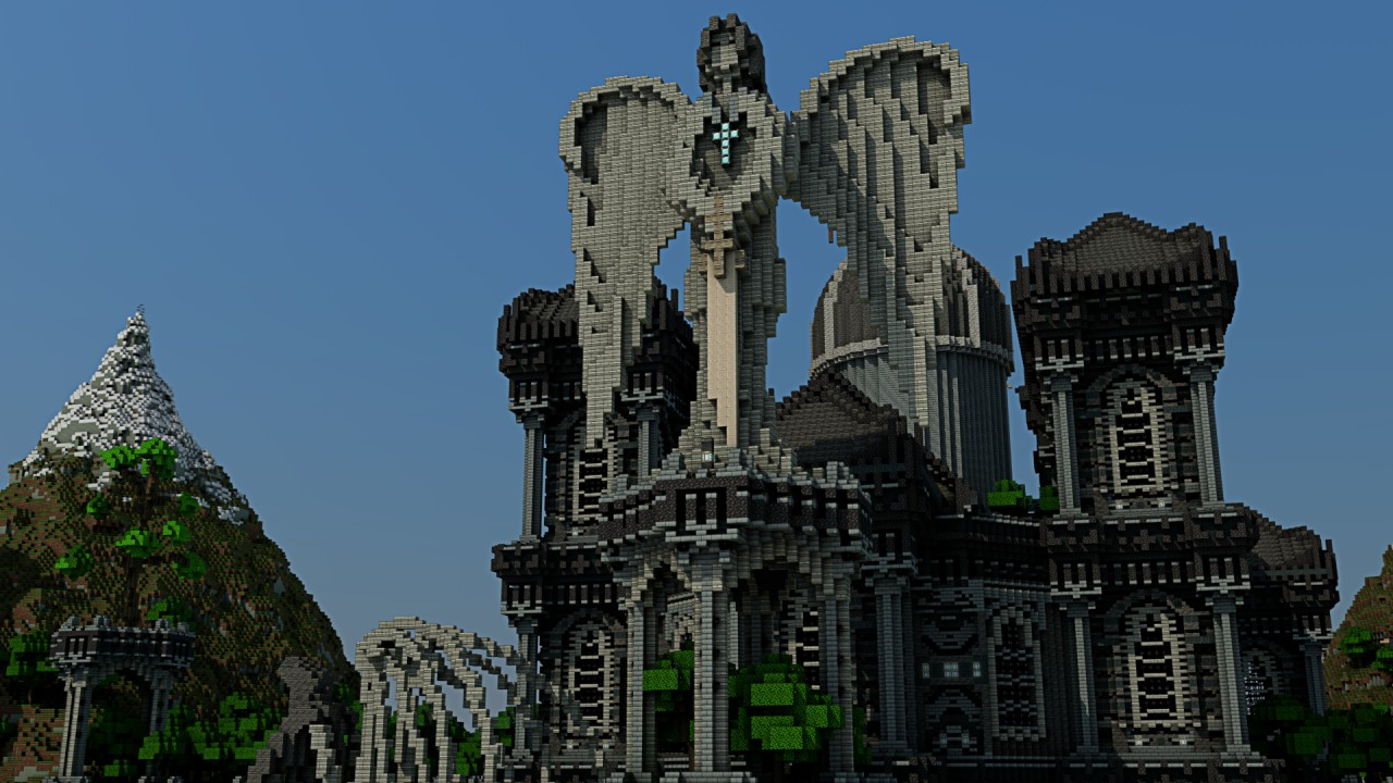 Cathedral Of Ardrane Minecraft Project