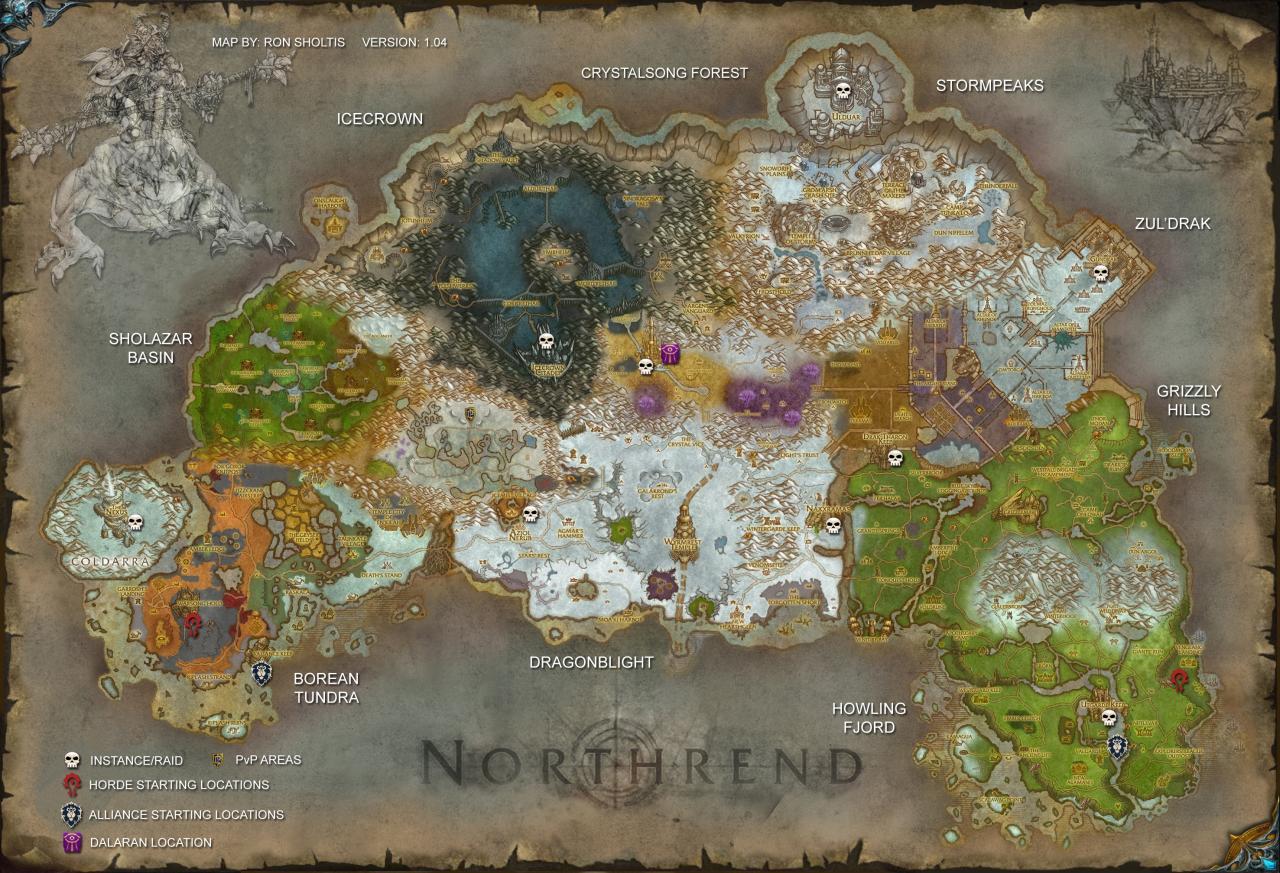 World of Warcraft Northrend