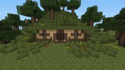 LOTR Hobbit House Tutorial Minecraft Map & Project