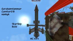 StarShip Build (on Mckits) Minecraft Map & Project