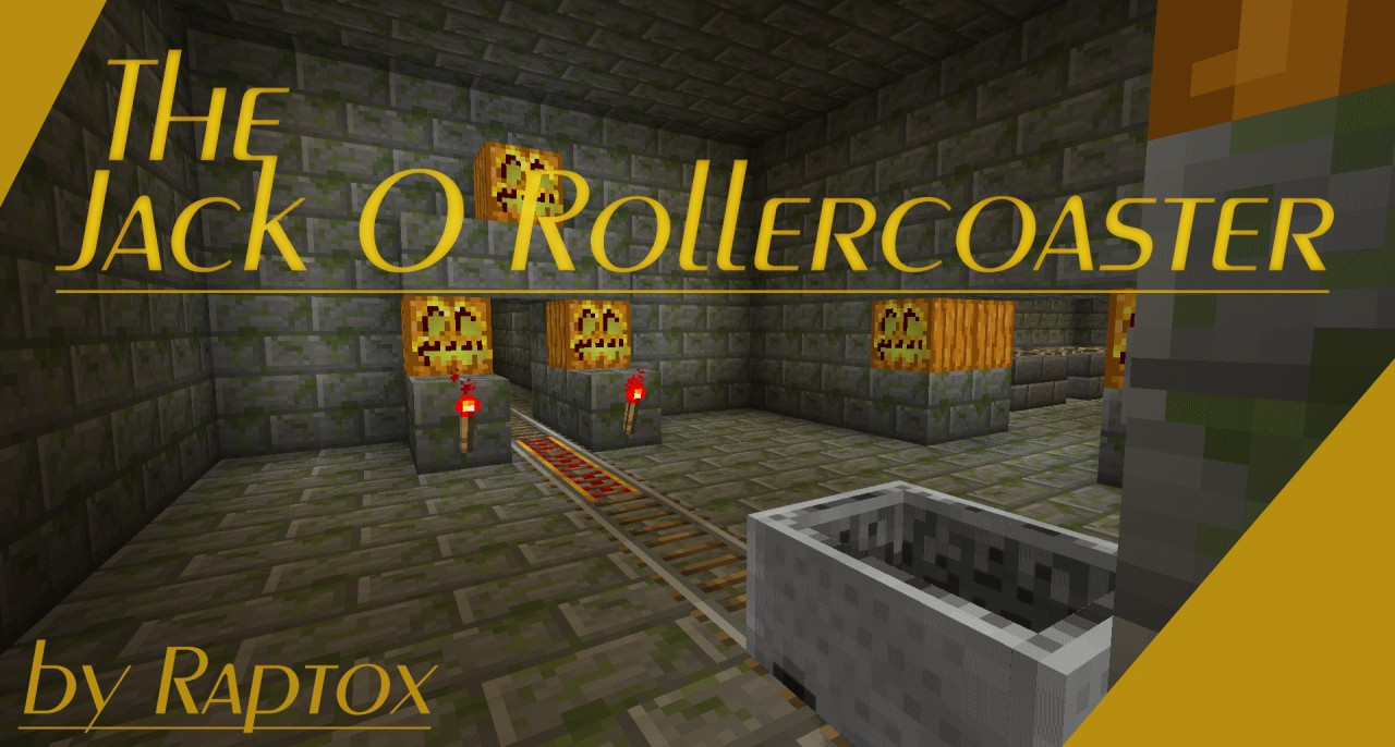 The Jack O Rollercoaster Mcedit Schematic Added Minecraft Project Roller Coaster Diagram