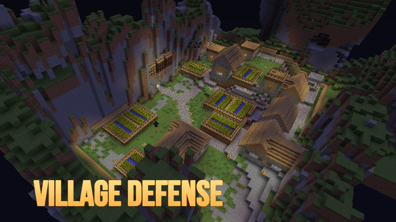 MiniGames Puzzles And Adventure Maps Minecraft Collection - Minecraft defence spiele