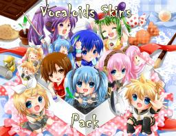Vocaloid Skins Pack Minecraft