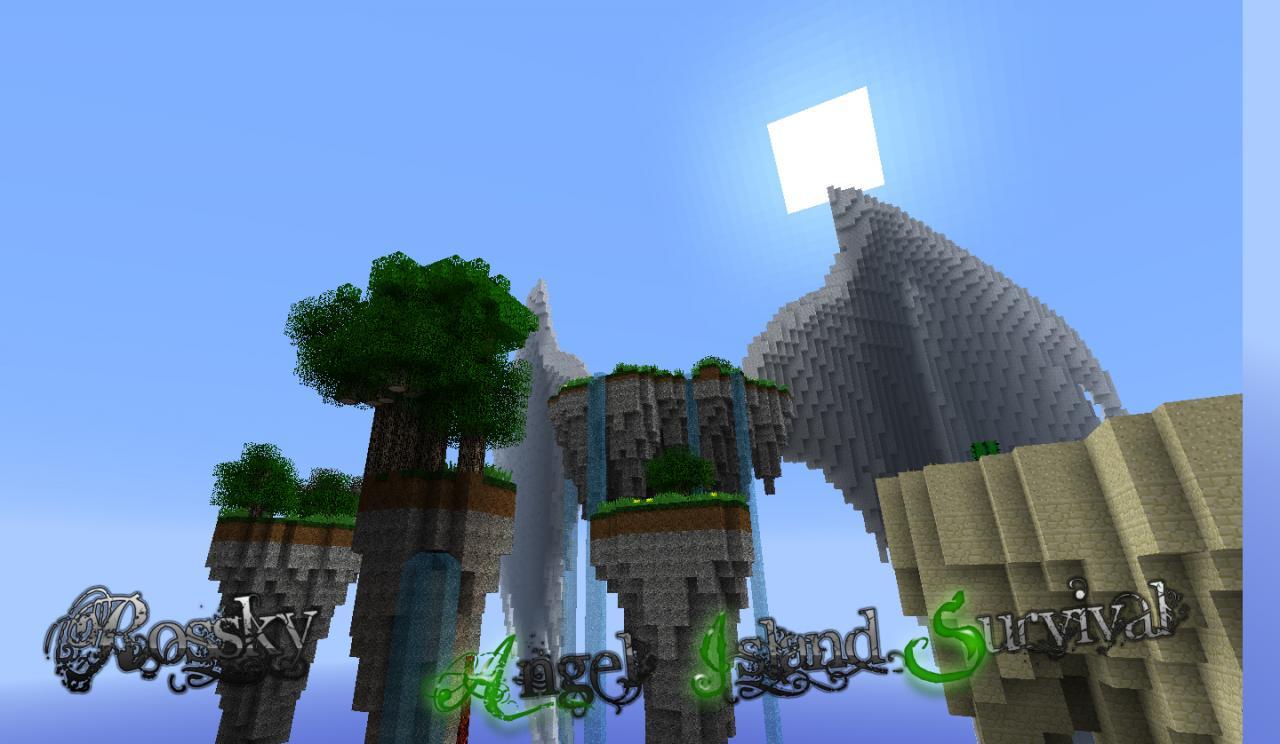 Angel Island Survival Minecraft Project