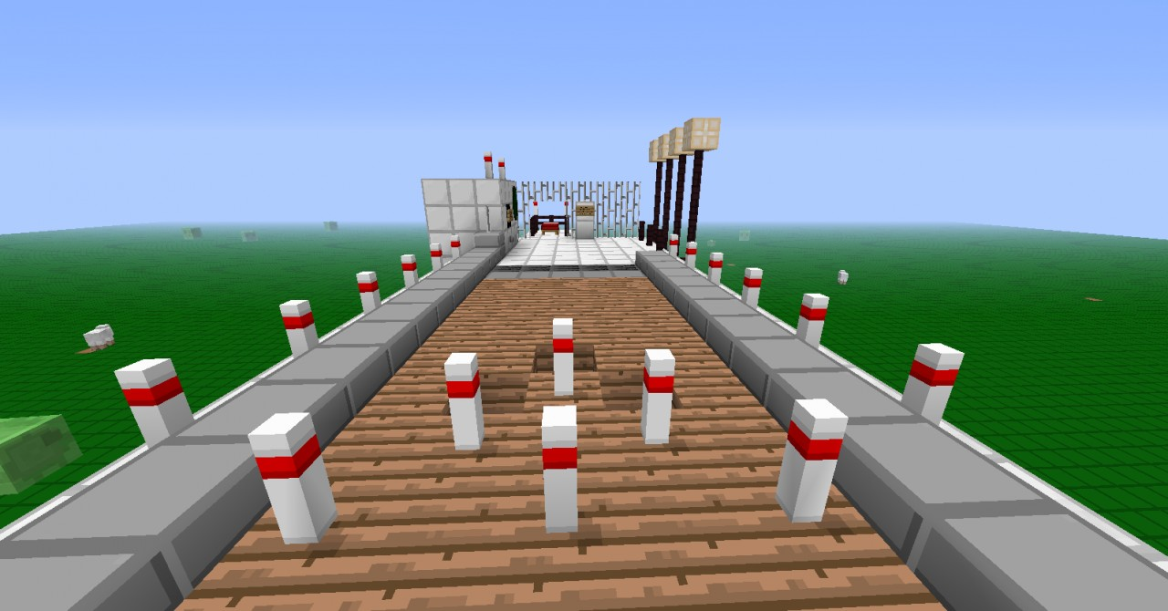 Minecraft Bowling With Texture Minecraft Project