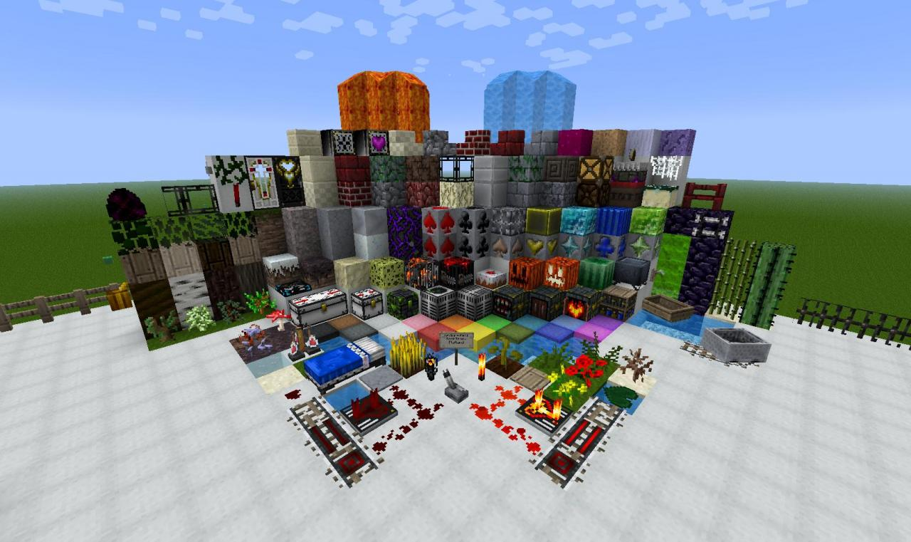1.4.2 16x Cowcraft V0.9 Minecraft Texture Pack