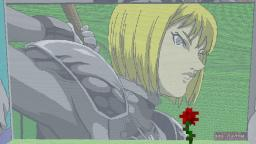 minecraft pixelart - Clare from claymore Minecraft Map & Project