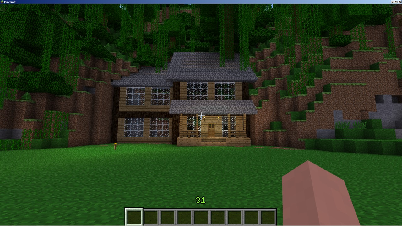 classic american detached house Minecraft Map
