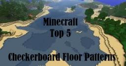 Minecraft Top 5: Checkerboard Floor Patterns Minecraft Blog