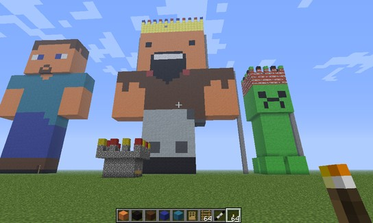 Giant Steave House Minecraft