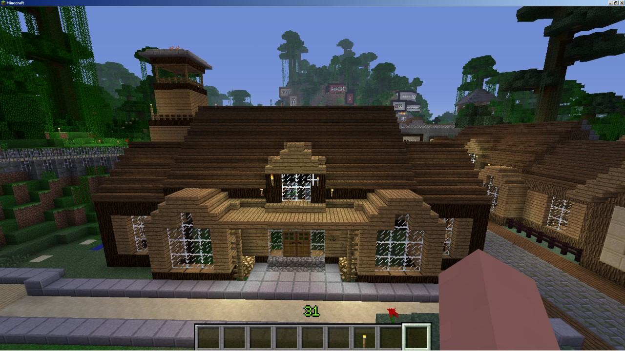 Suburbia Classic House Minecraft Project