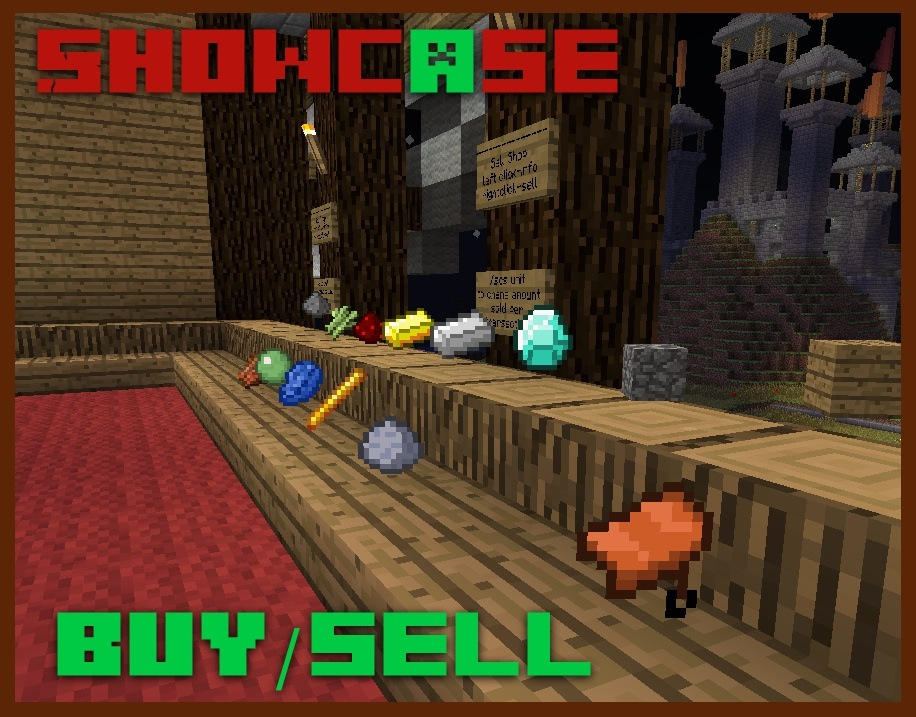 Buy and sell items! Money can be used for many purposes!