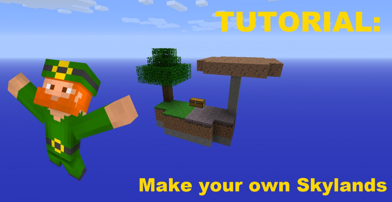 How To Make Your Own Skylands Custom Biomes Minecraft Blog