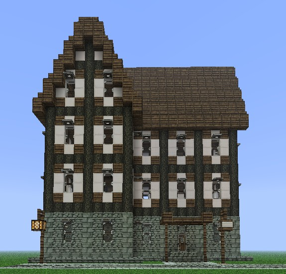 Medieval building 13 minecraft project for What to do to build a house