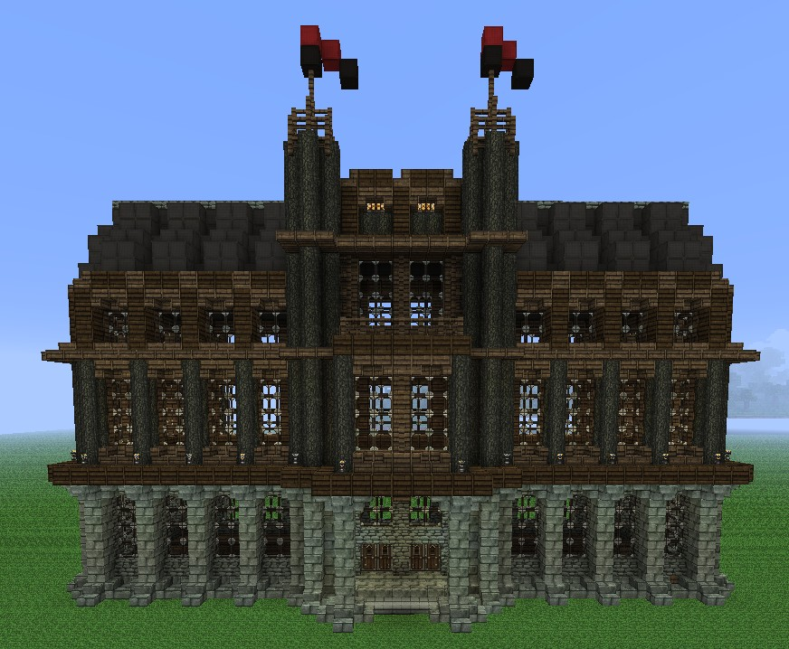 Small Medieval Palace Minecraft Project