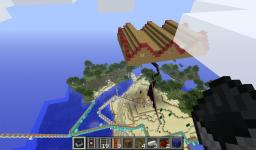 SGJS Roller Coaster City Minecraft Project