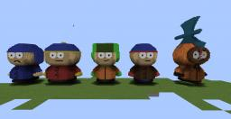 South Park Character Statues Minecraft Map & Project