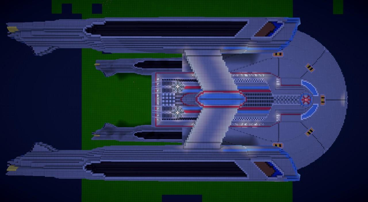Star trek barracuda class destroyer minecraft project for Star trek online crafting leveling guide