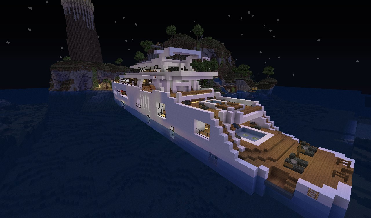 карта яхта майнкрафт #3