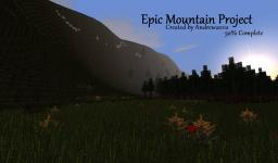 EPIC Mountain Landscape 50% COMPLETE Minecraft Map & Project