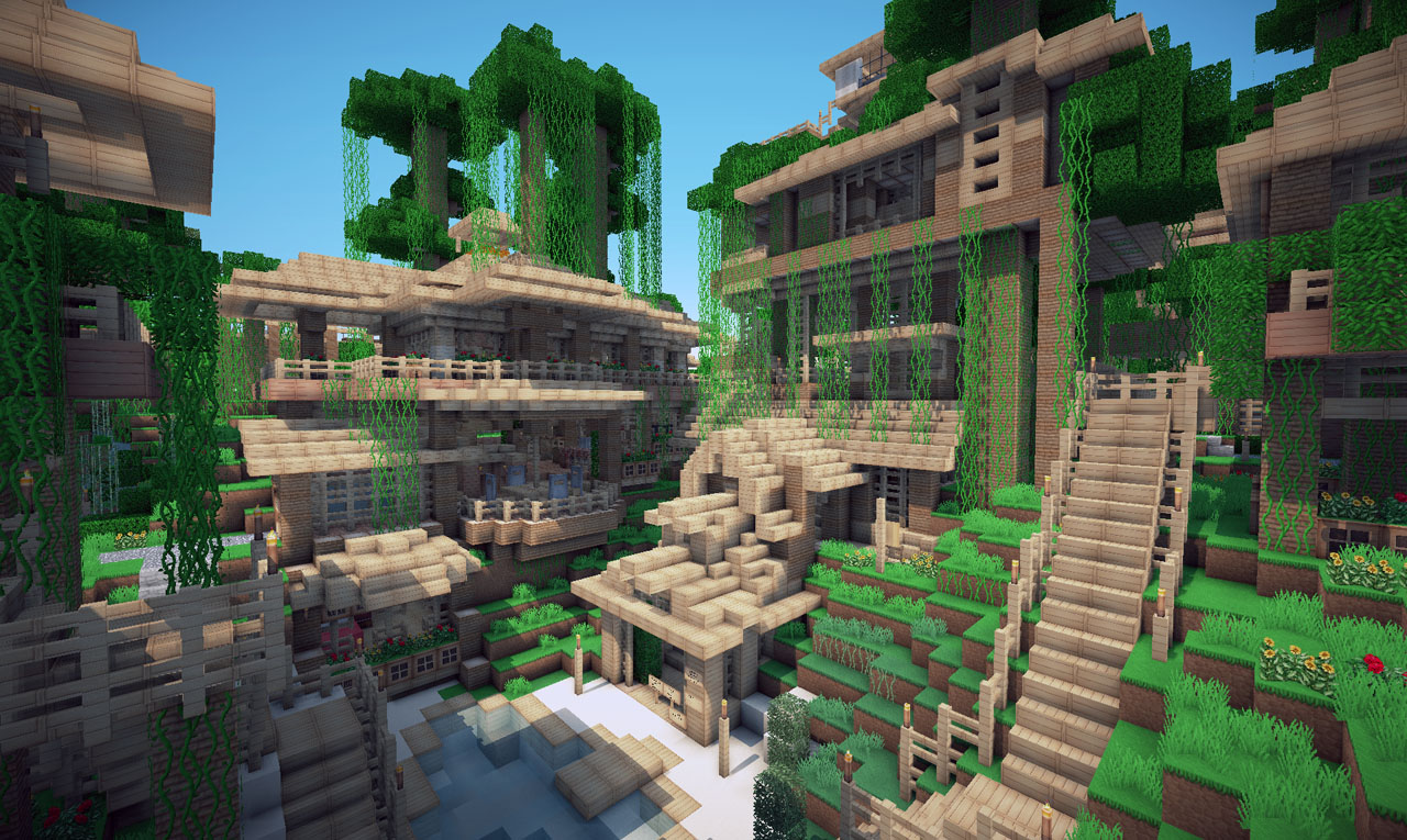 House on world of keralis minecraft project other houses in jungle town gumiabroncs Images