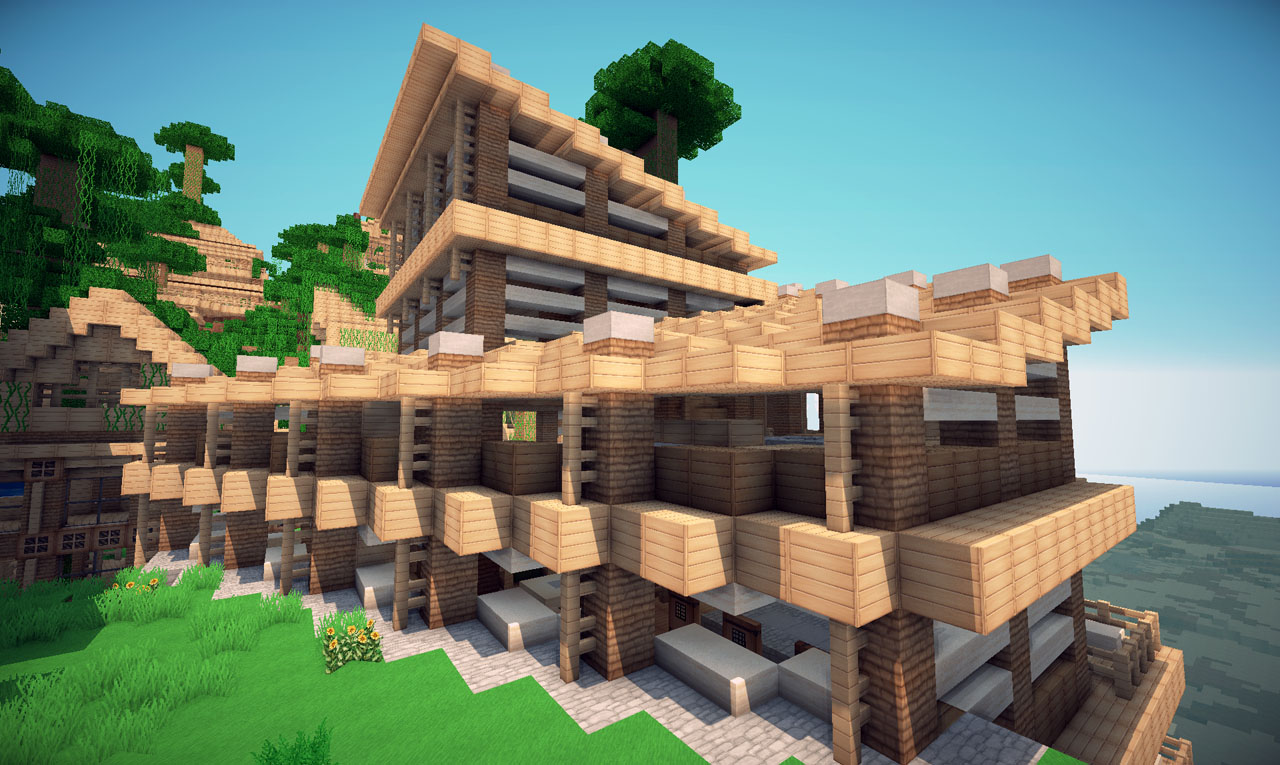 Jungle House on World of Keralis Minecraft Project - ^