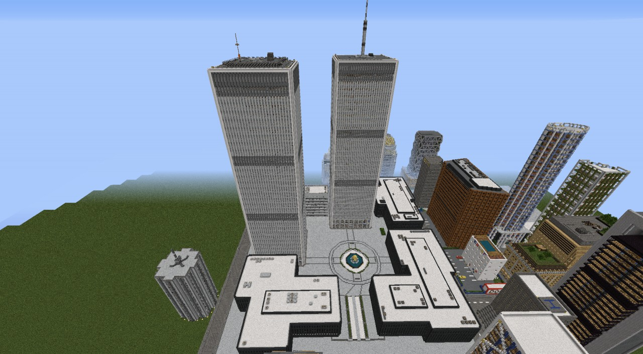 World trade center minecraft project - Minecraft hochhaus ...