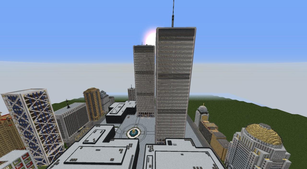 World Trade Center Minecraft Project - Minecraft hochhauser