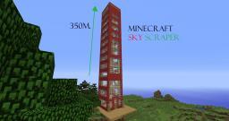 highest scyscraper ever seen Minecraft Map & Project