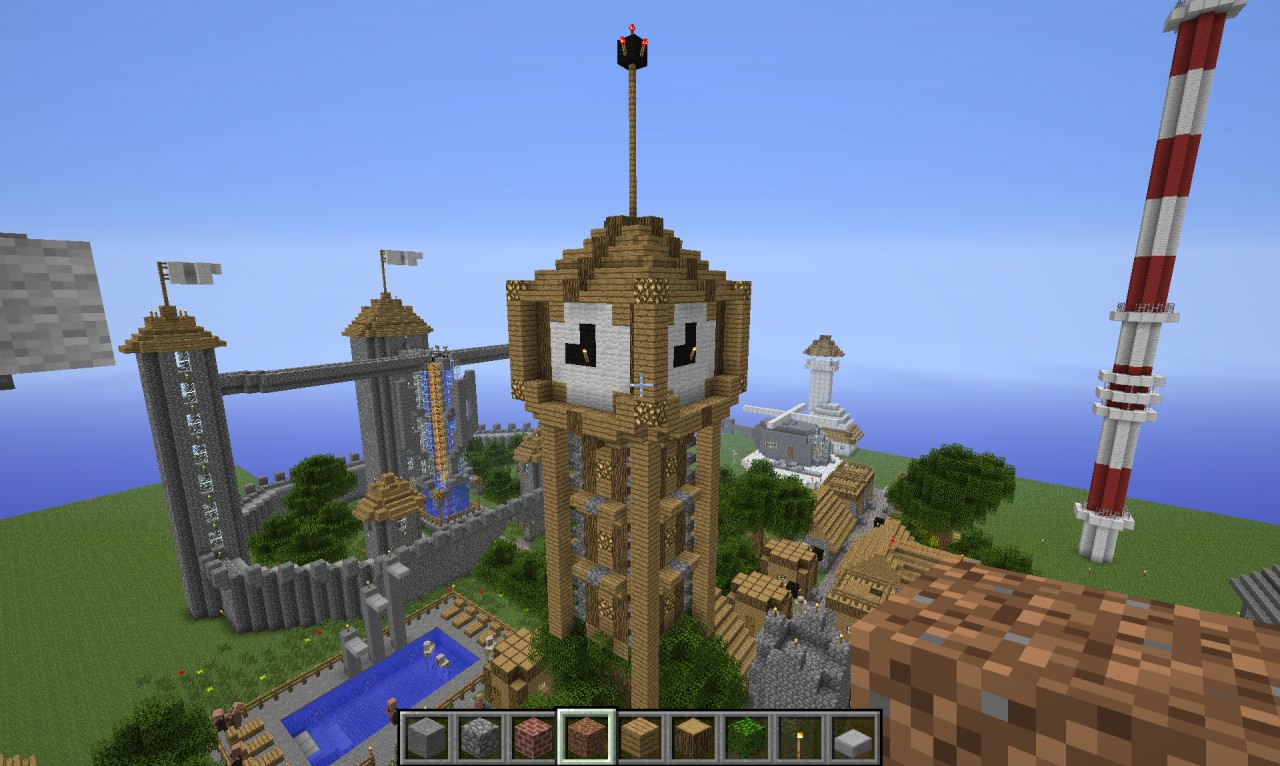 Some Random Clock Tower Ive Built Minecraft Project