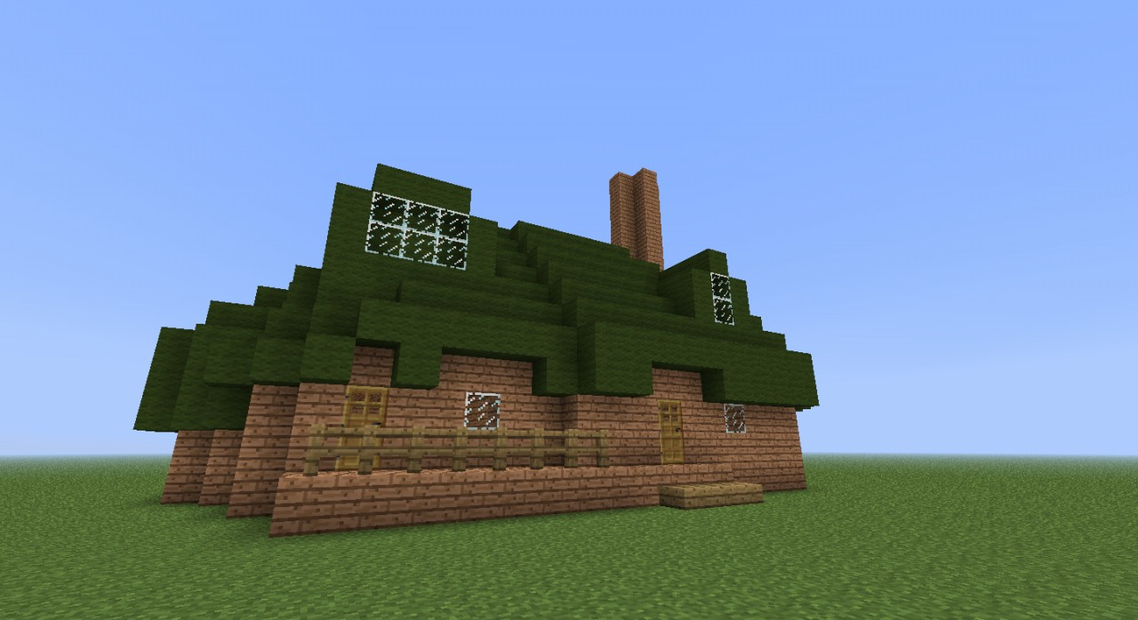 Fluttershy S Cottage Minecraft Project