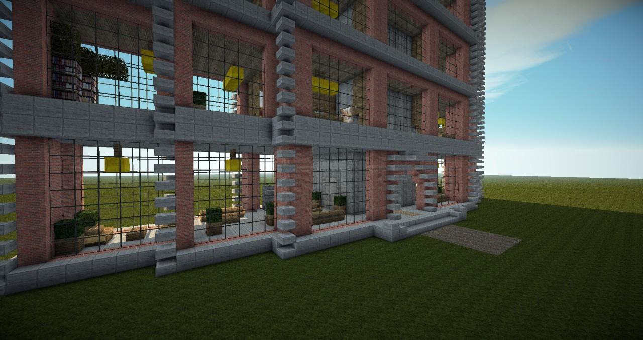 Modern Building New York Lofts 1 3 Minecraft Project