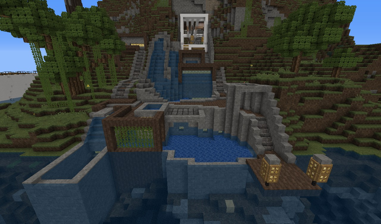 Pools And Such The House Would Be Inside The Cave And Facing To The