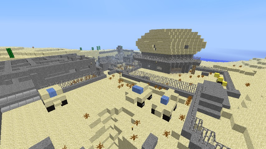 Map Dome Minecraft Project