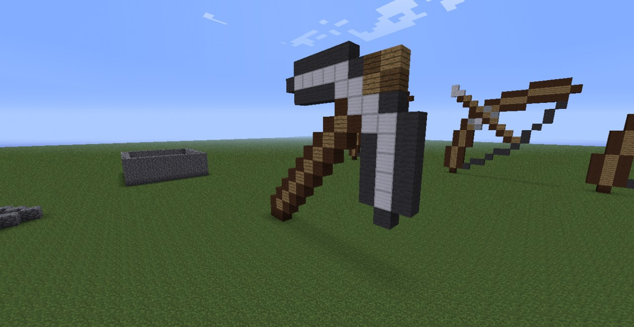 minecraft how to make a iron pickaxe on ipod