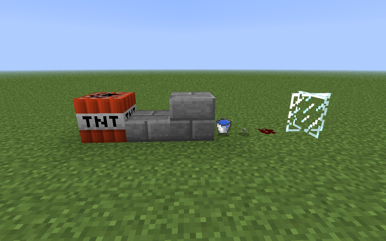 How to make a Player-safe TNT cannon (shoots 35 blocks up ...