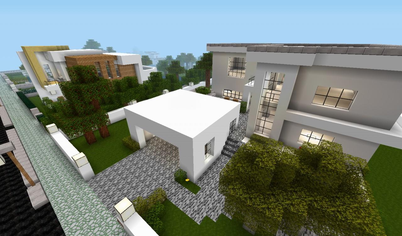 Modern House City Project V 1 Minecraft Project