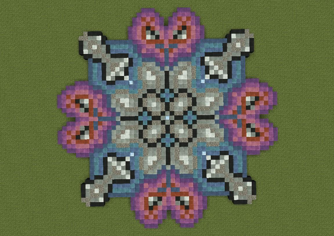 Companion Cube Hearts Minecraft Project