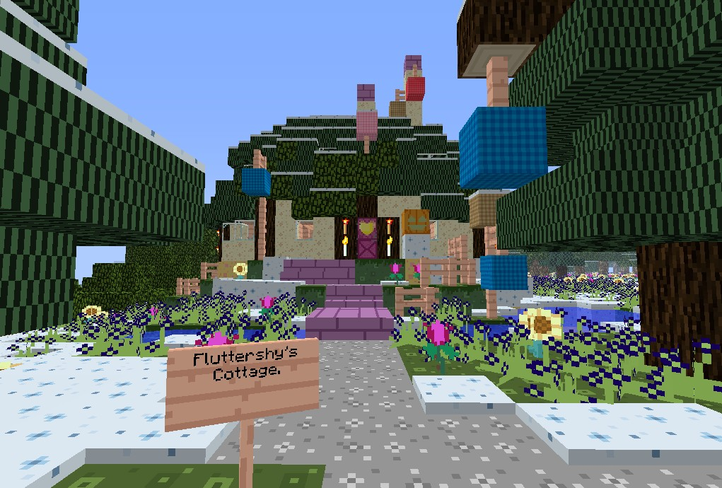 PonyVille Winter Wrap-Up Version  UPDATED 18 05 16  Minecraft Project