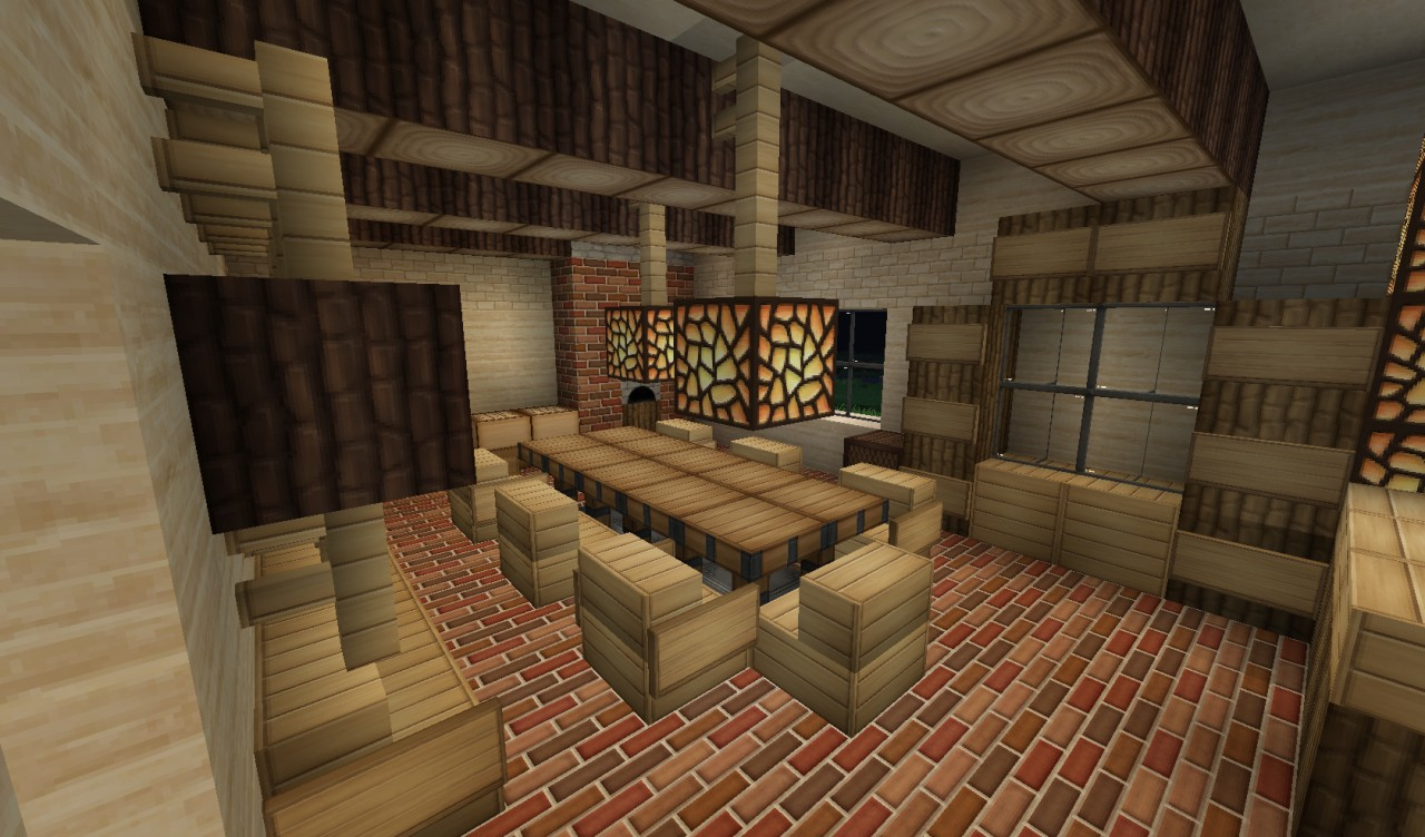 Home minecraft project for Dining room minecraft