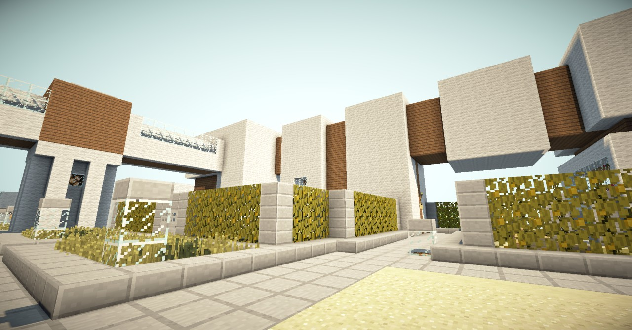 How to Build Modern Luxury House on Survival servers Step by Step. Modern house mc   zionstar net   Find the best images of modern