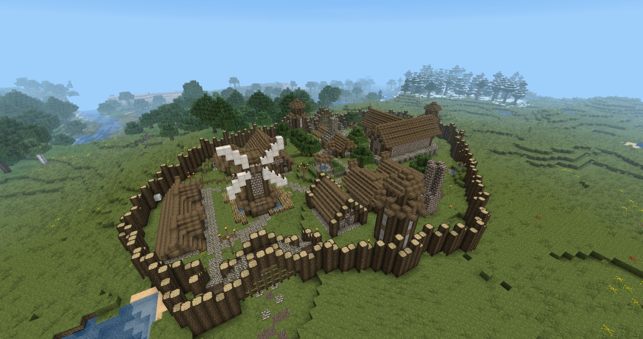 how to get rid of all the villages in minecraft