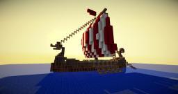 Drakkar Viking - Ship Minecraft Map & Project